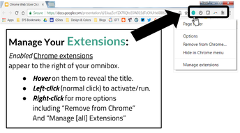 Manually Manage Extensions