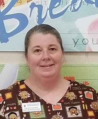 Mrs. Paula Elkins- CNP Supervisor of The Month - Jones Valley Elem.