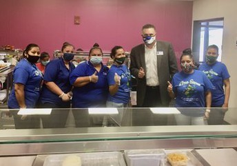 Supporting our School Nutrition staff