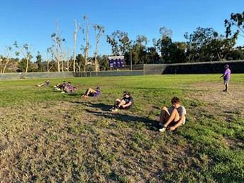 Baseball Conditioning with Coach Hurst!