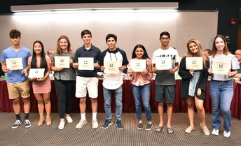 Academic Excellence in 18-19 for Grade 11