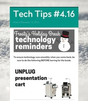 Technology Reminders