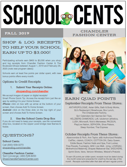 School Cents Flyer