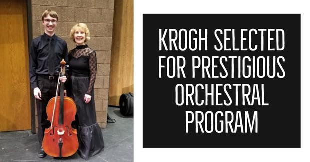 Krogh Selected for Prestigious Orchestral Program