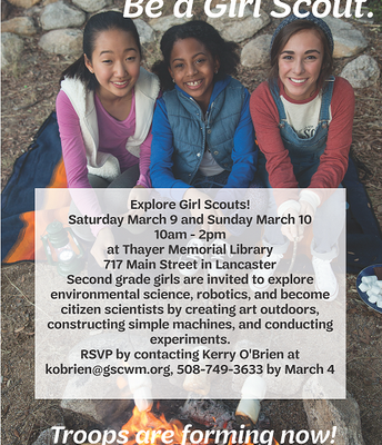 2nd Grade Girl Scouts Event