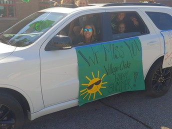 Car in parade