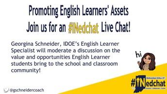 English Learner-focused IDOE Twitter Chats