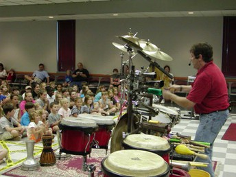 Mark Seymour Drums and More: Tues. March 27, 10:30 a.m.