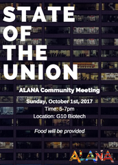 ALANA'S COMMUNITY MEETING: STATE OF THE UNION