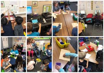 1st Grade Blended Learning Stations