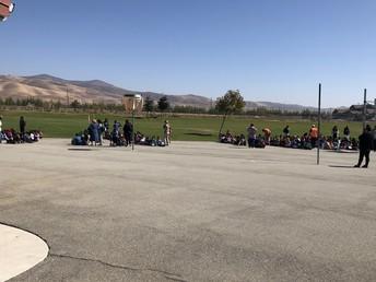 Jack Franscioni Students evacuating
