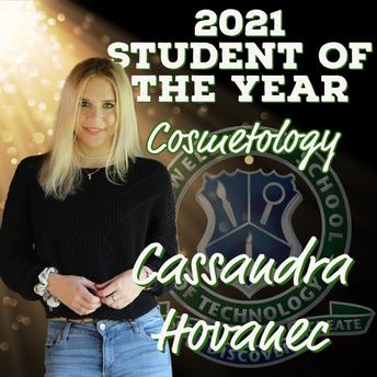 Cassandra Hovanec, Cosmetology SOY