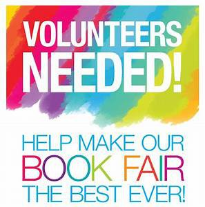 Sign Up to Volunteer at Book Fair, 9/9-13