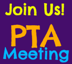 Join us at our next PTA Meetings