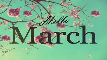 March - April Calendar