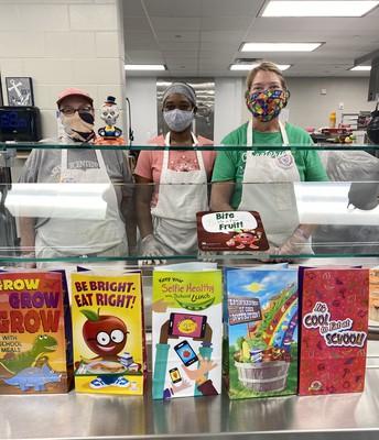 Oak Hill Elementary Cook Staff
