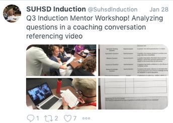 Mentors analyze questioning strategies