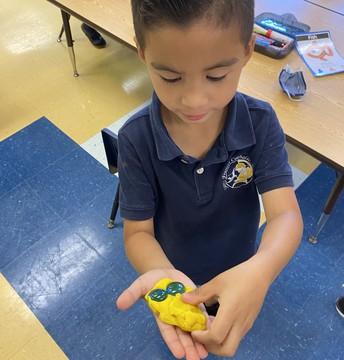 Play-doh fish