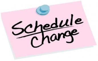 School Schedule Changes (Make up days)