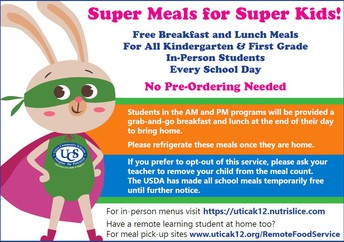 Food Service/Meal Information