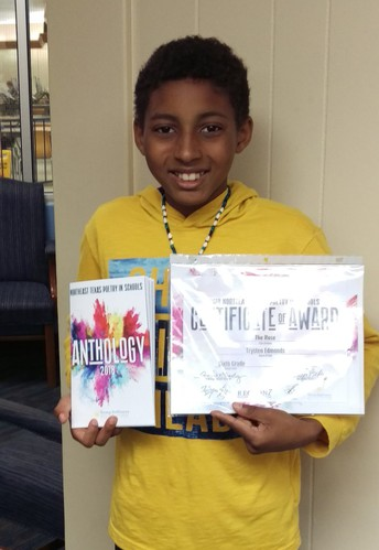 Sixth Grader Wins Poetry Contest