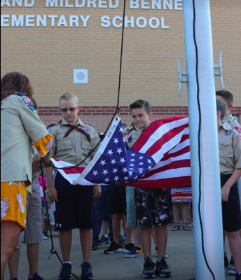 11th Annual Flag Raising Ceremony