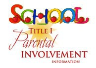 Title I and Parent Involvement Meeting