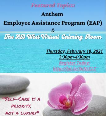 Self Care Session 2/18 3:30pm
