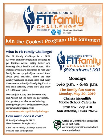 Click  image to view, download or print the Fit Family Challenge flyer.