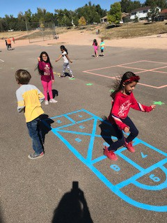 We love our new blacktop games!