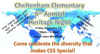 Tonight | CE Heritage Night