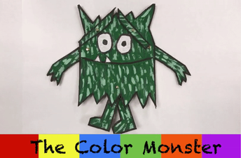 Animated Color Monster