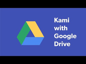 Using Kami with Google Drive