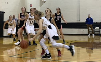 8th-grade Girls Basketball Team
