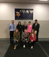 Elks Students of the Month (March)