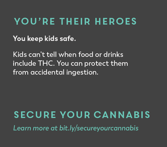 You're their heroes. You keep kids safe. Secure Your Cannabis.