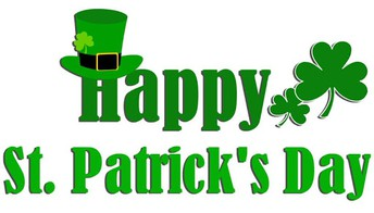 St. Patrick's Day-Wednesday, March 17th