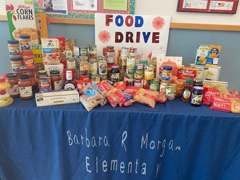 Food Drive Thank You