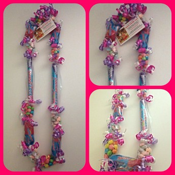 6/12   Candy Lei Necklaces will be for sale on the day of the 8th Grade Promotional Ceremony for $10. ea