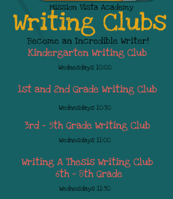 Writing Clubs