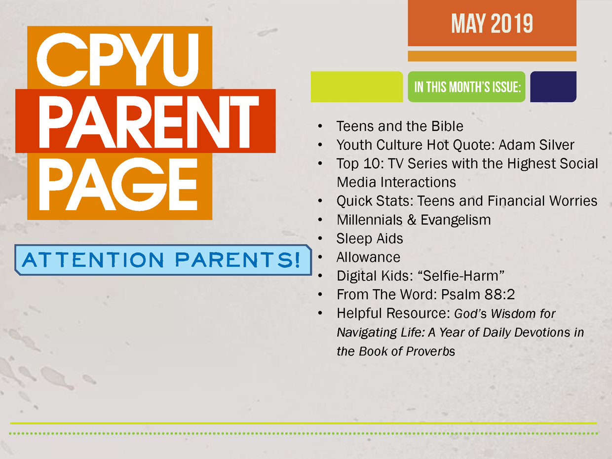 Youth Ministry | slpca org