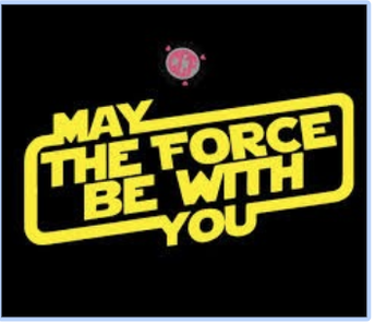 Monday: May the 4th be with you!