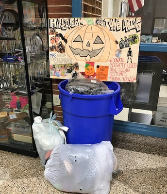 Fashion Club Halloween Costume Drive