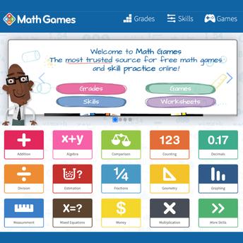 MathGames screenshot