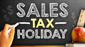 SALES TAX WEEKEND
