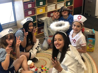 5th Graders Having Fun