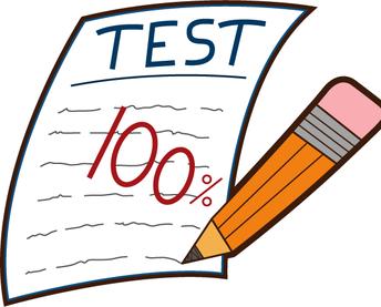 End of Second Quarter/Semester Test