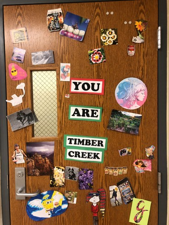 You are Timber Creek!
