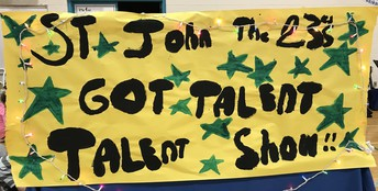 Annual talent show: St. John XXIII'S Got Talent