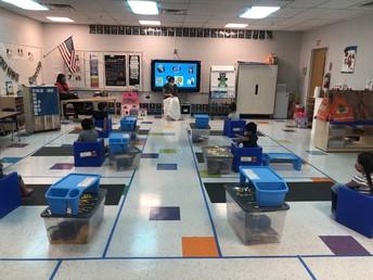 Mrs. Schoonover's PreK class set up